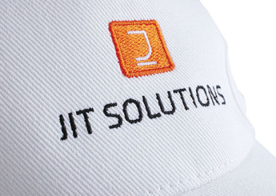 Embroidery on a cap – Jit Solutions