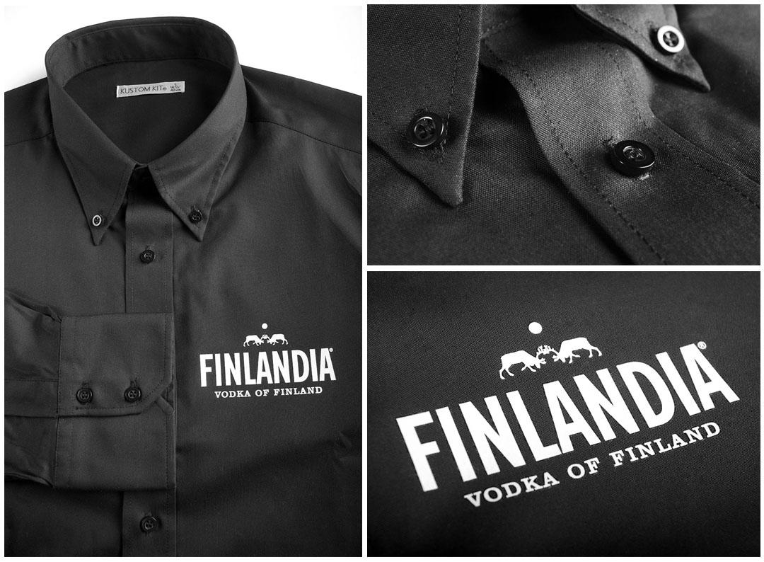 Finlandia - koszule z termonadrukiem