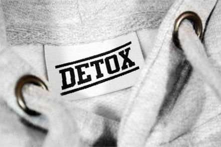 Sitodruk na bluzie bawełnianej – DETOX WEAR