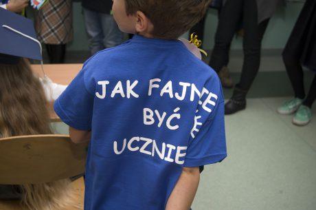 Pasowanie na ucznia i koszulki od Printexpress.pl
