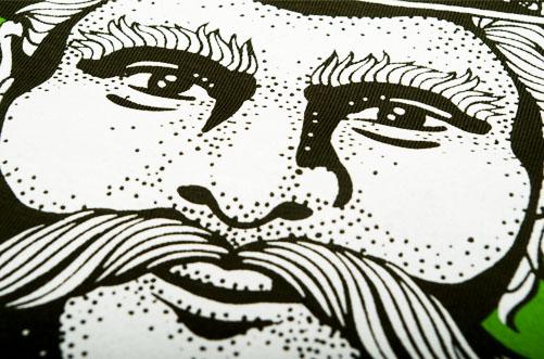 Darz Bór – sitodruk na koszulkach bawełnianych