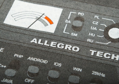 Allegro – sitodruk