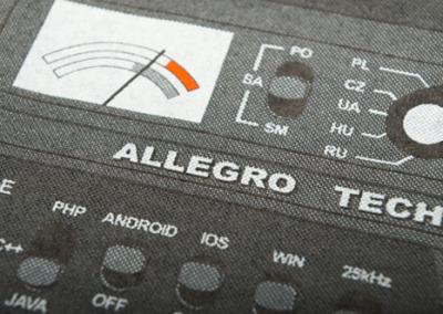 Allegro – screen printing