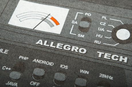 Allegro – screen printing