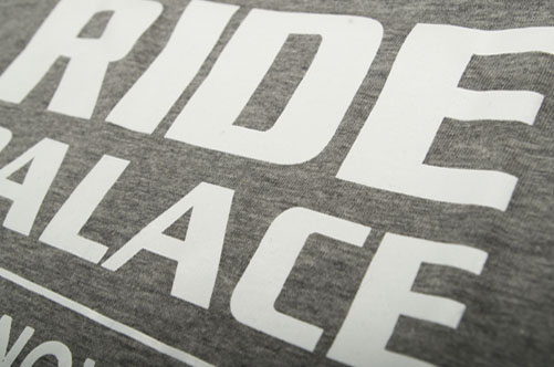 T-Shirts bedruckung Ride Palace