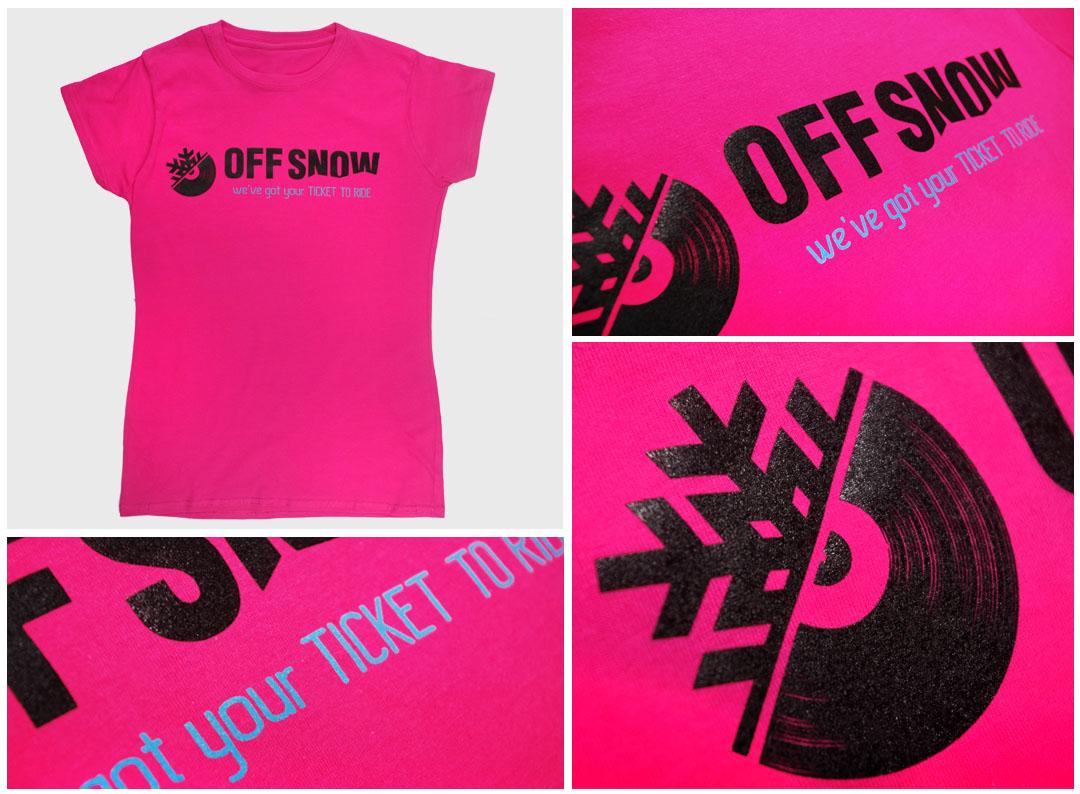 Nadruki na koszulkach - Off Snow   Printexpress.pl