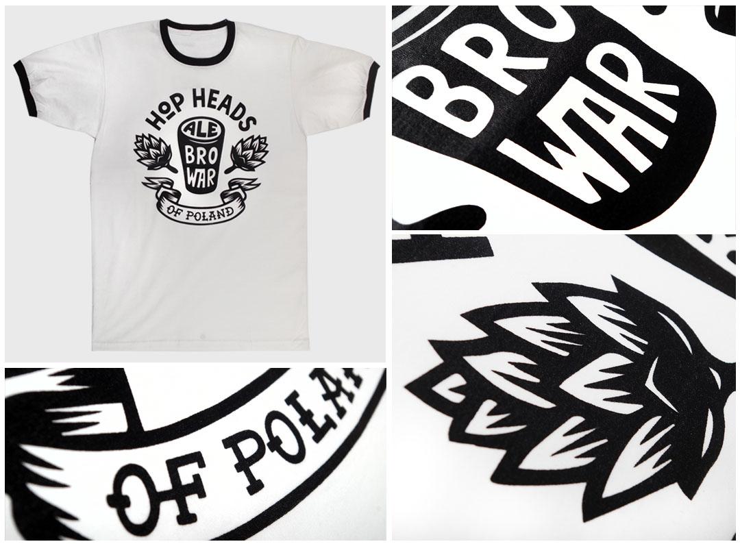 Nadruki na koszulkach - Ale Browar | Printexpress.pl