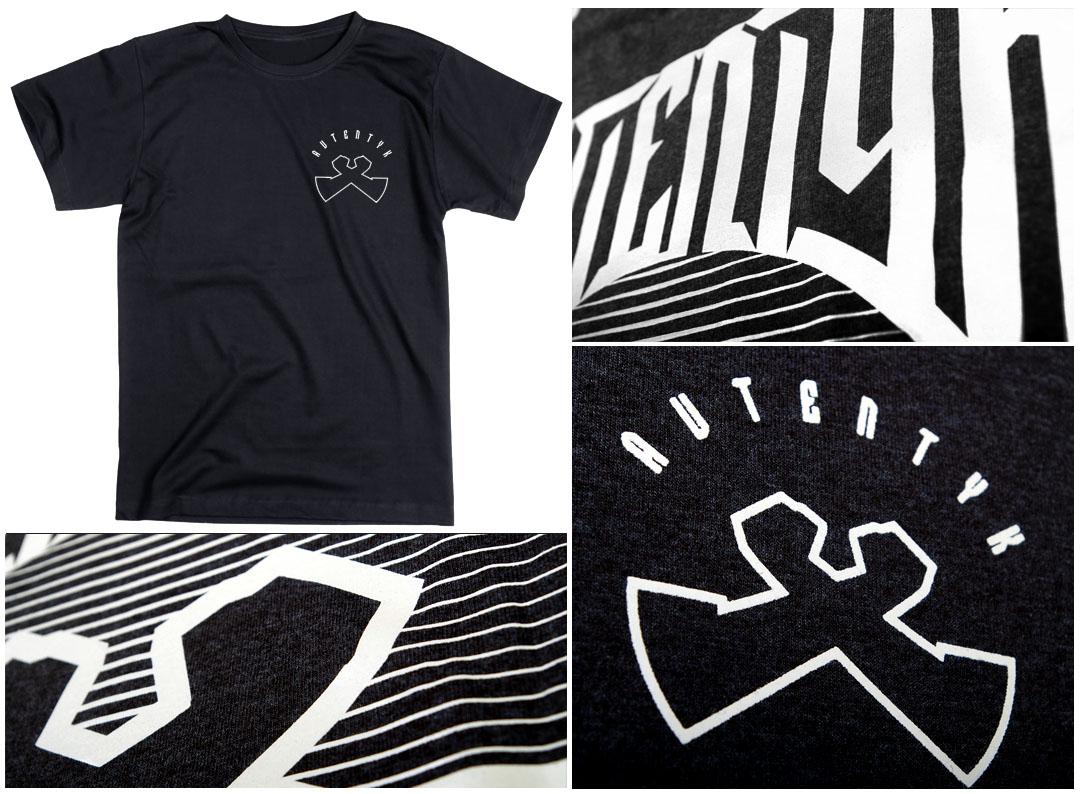 Bedruckte T-Shirts in computerstickere