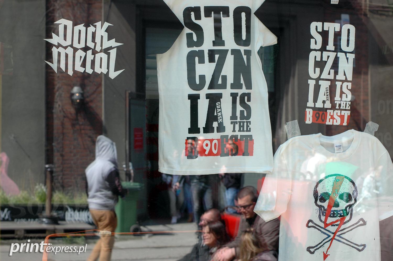 Wspomniane wyżej koszulki z nadrukami wyprodukowane przez Printexpress.pl