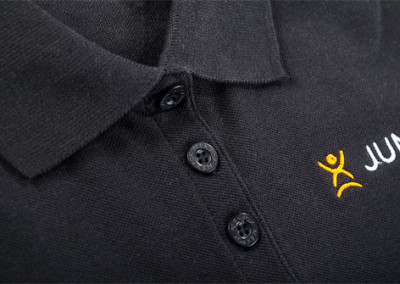 Stickerei Polo T-Shirts JumpCity
