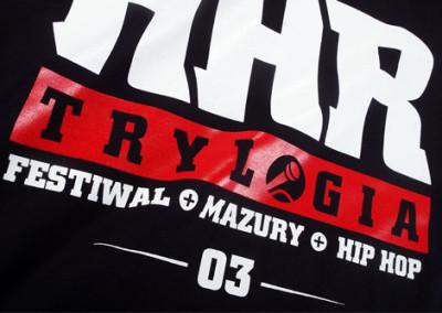 Bedrucktes T-Shirts HHR Trylogia