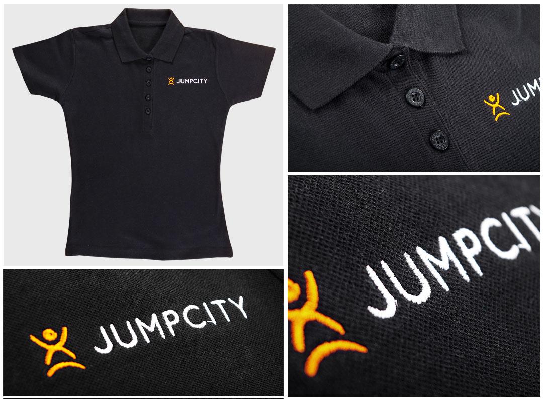 Haft na koszulkach polo - Jumpcity | Printexpress.pl