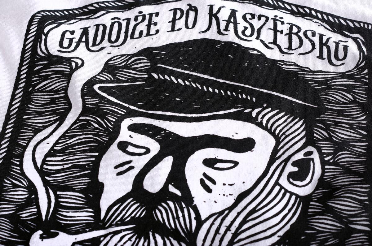 Nadruk na koszulkach Kaszëbë